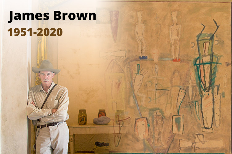 Décès de James Brown artiste contemporain américain