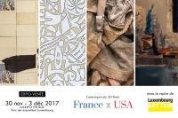 France x USA - Luxembourg Art Fair 2017