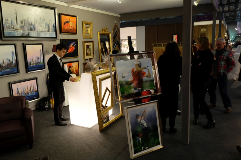 Vernissage exposition Victor Spahn