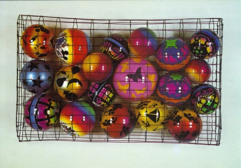 19 ballons + cage (1990)