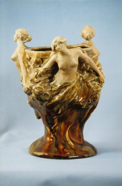 Vase Trois femmes - Albert Finot