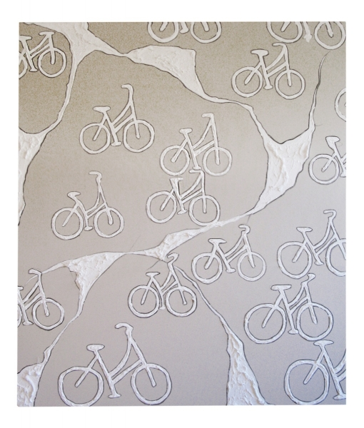 Map of a Brooklyn Bike 2015 - 60x50 inches