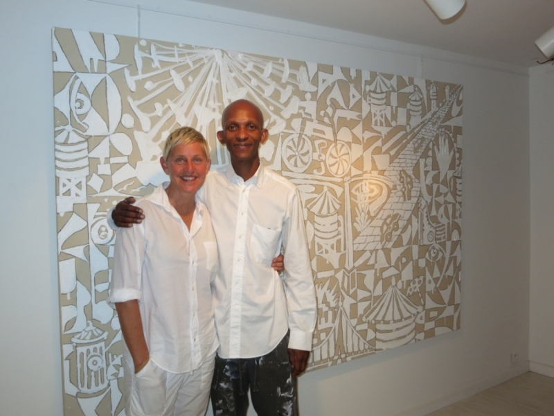 Avec Ellen Degeneres
