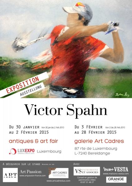Victor Spahn, le peintre du mouvement