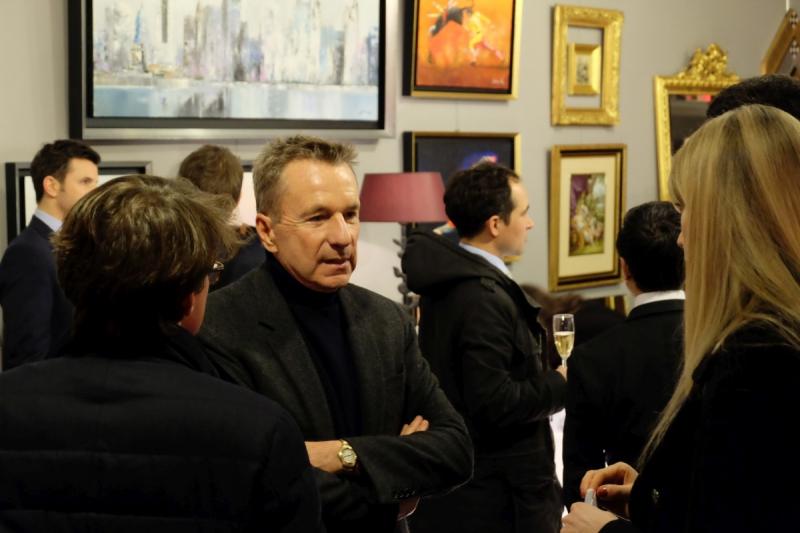 Vernissage de l'exposition Victor Spahn à LuxExpo